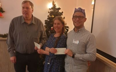 Charity Donations from Christmas Lunch